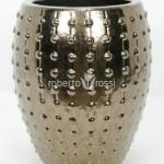 Ghivece din ceramica auriu Laos