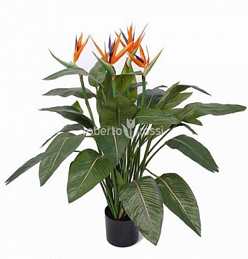 Strelitzia artificiala in ghiveci