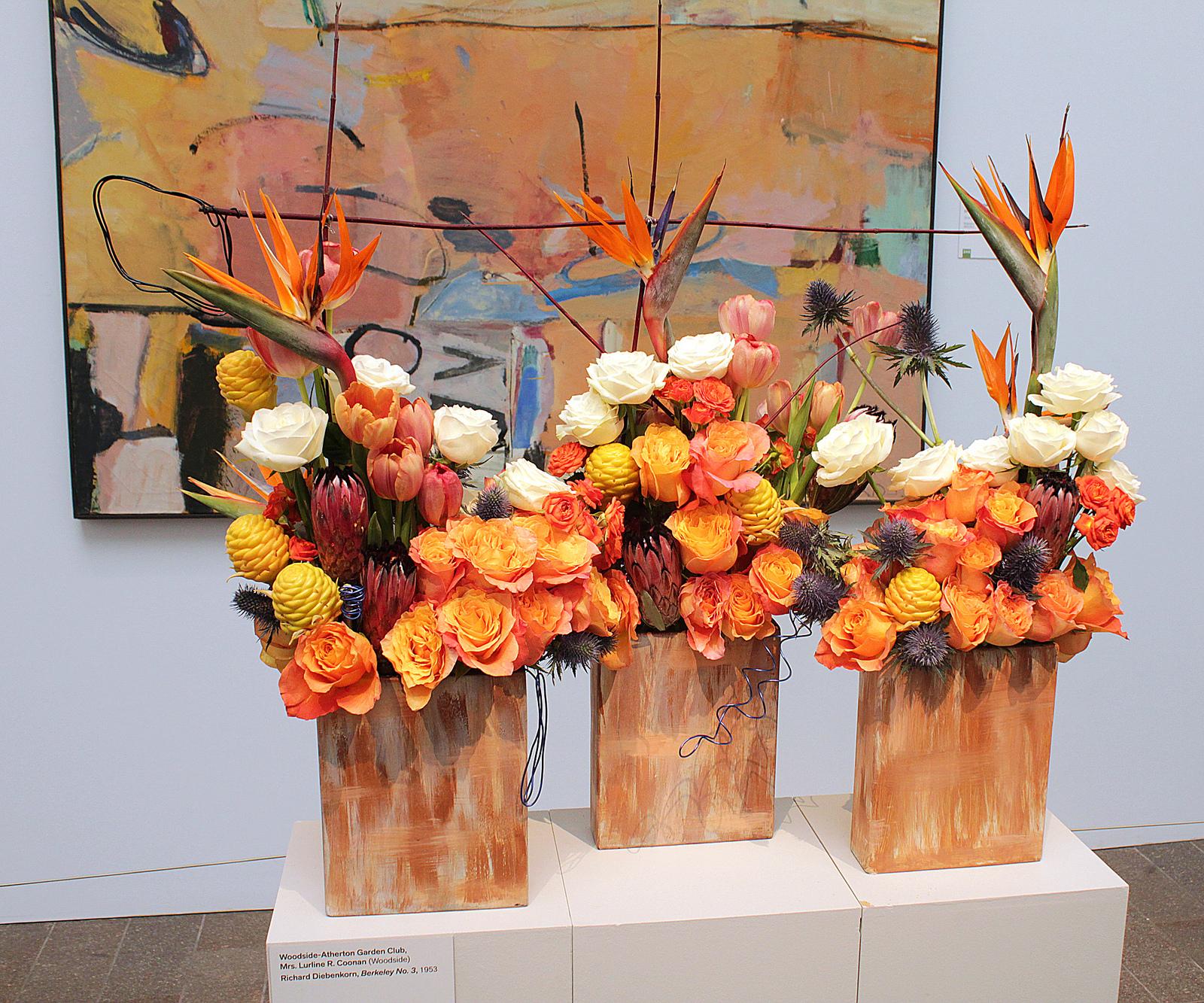 Flori artificiale spectaculoase