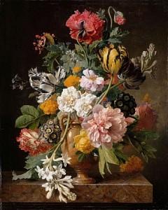 natura-moarta-cu-flori-pictura-pe-panza