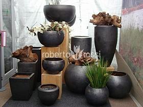 ghivece ceramice Anthracite